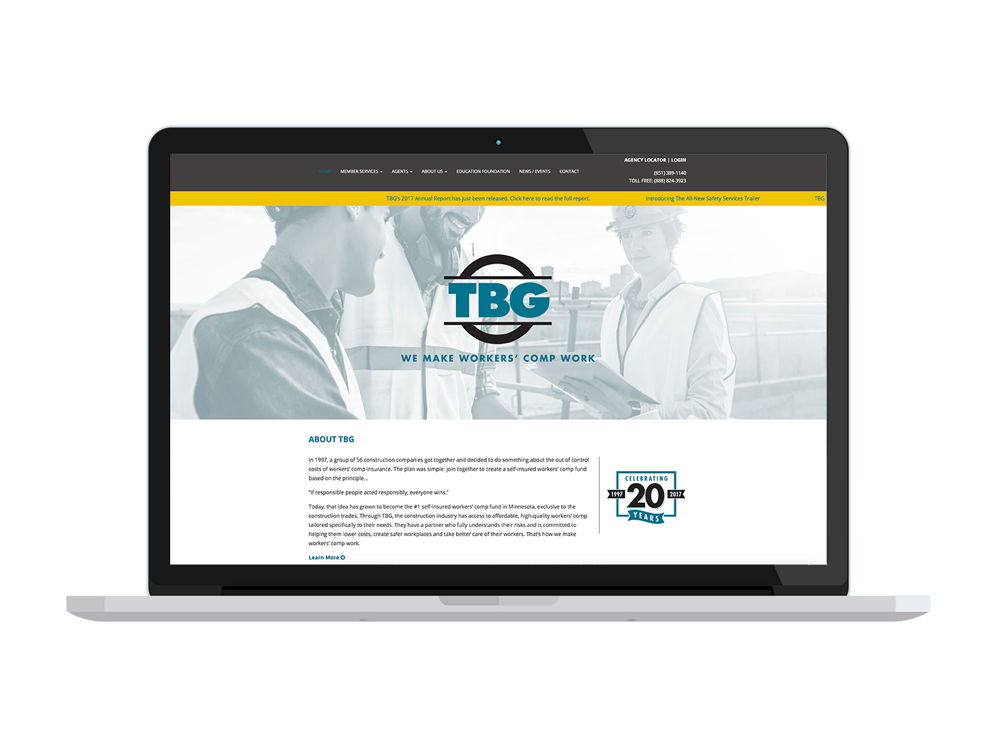 TBG brand identity