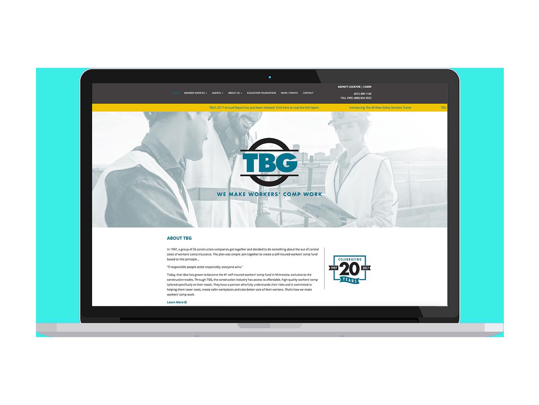 TBG brand identity
